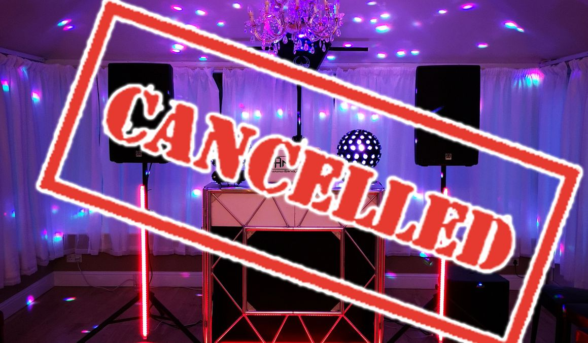 Cancelled Wedding Covid 19