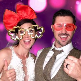 Bride-And-Groom-Photo-Booth