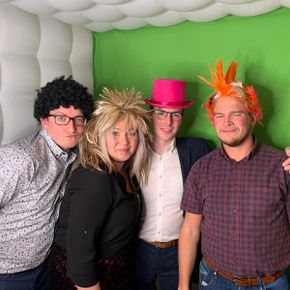south causey hotel photo booth