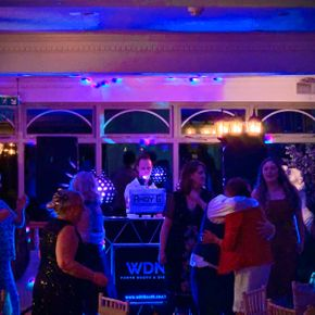 wedding disco sun hotel warkworth