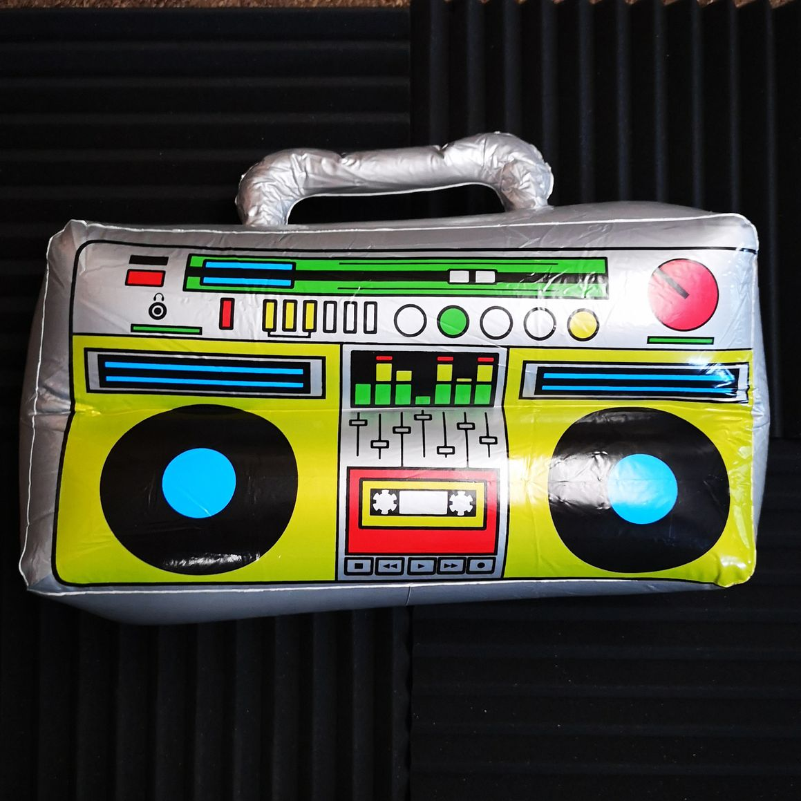 Inflatable Ghetto Blaster from WDN Photo Booth & Disco